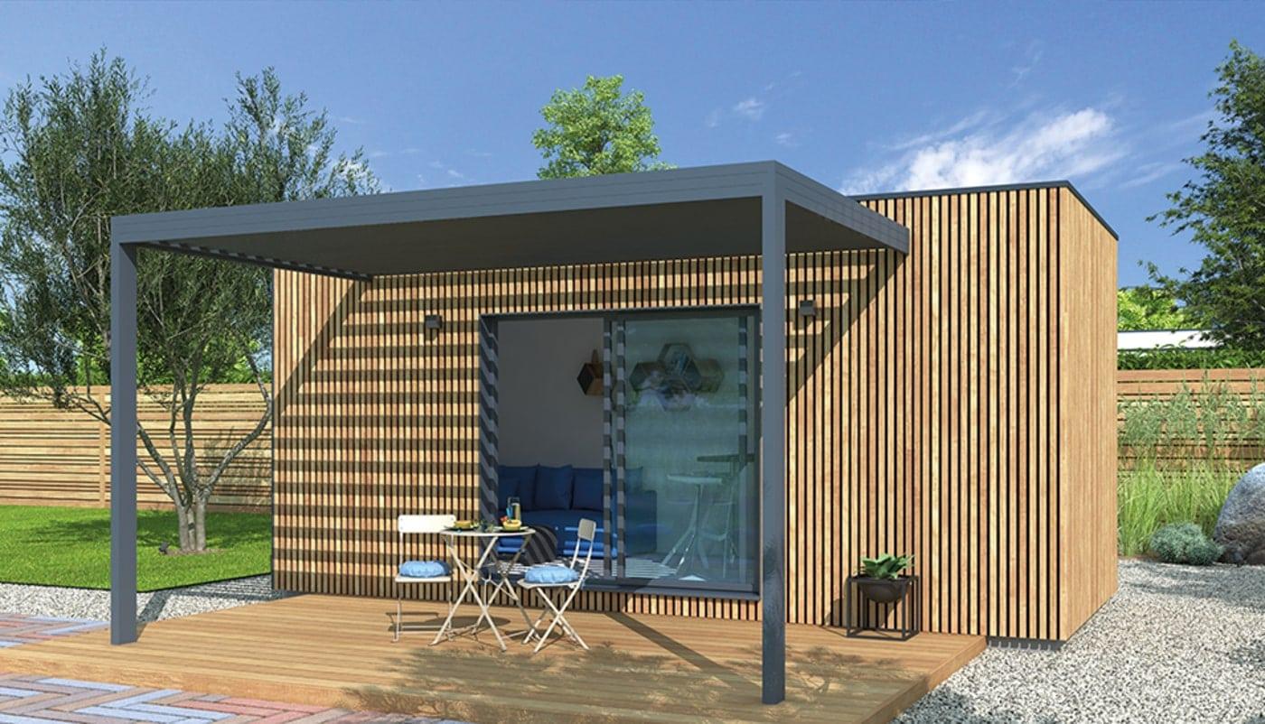 Studio de jardin 20m²