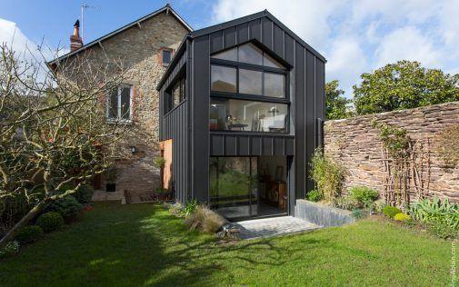 extension de maison zinc